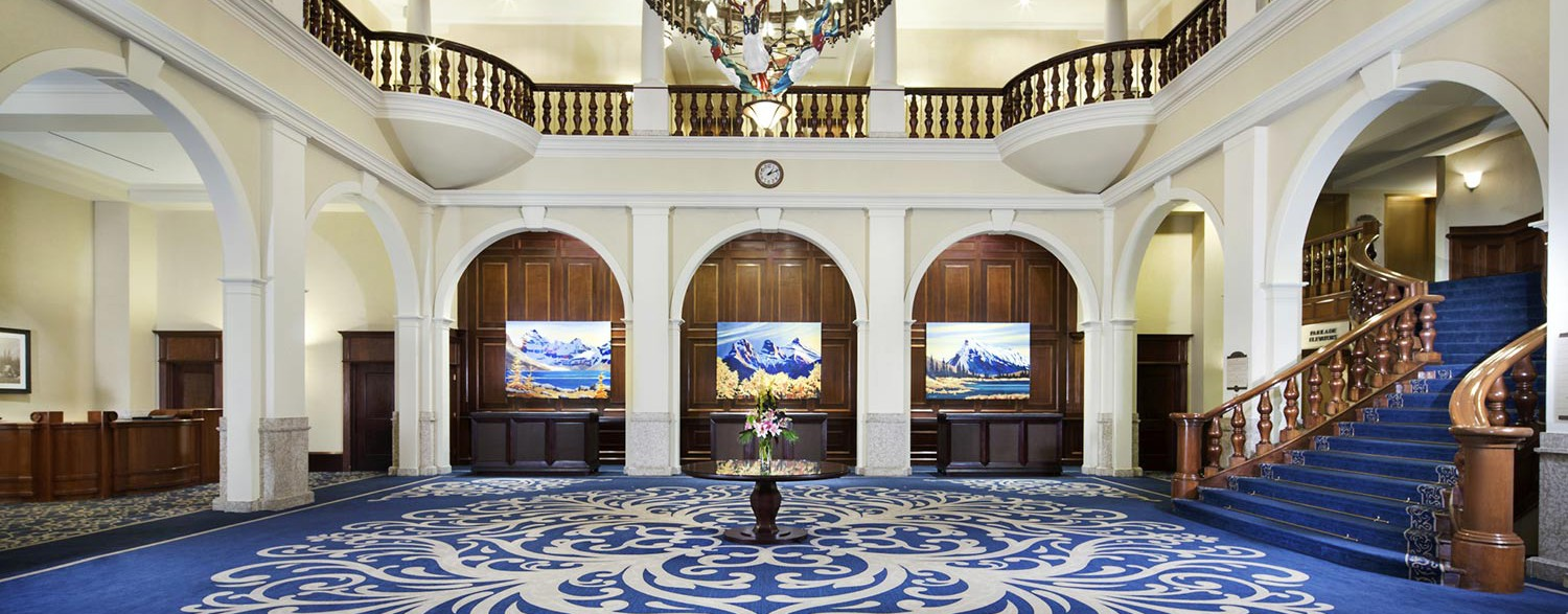 Grand Lobby, Fairmont Chateau Lake Louise