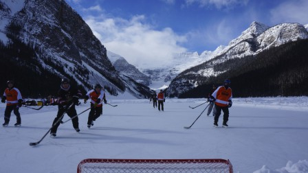 Pond Hockey Tournament, Lake Louise