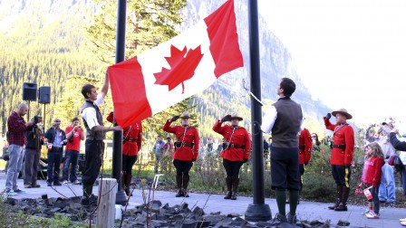 Canada Day Celebrations, Lake Louise