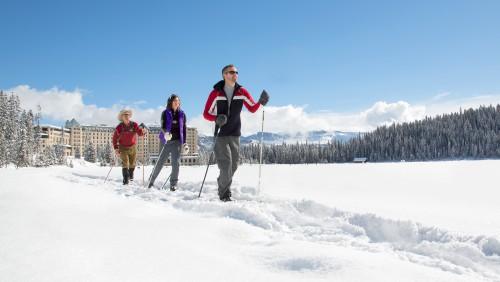 Cross Country Skiing, Lake Louise