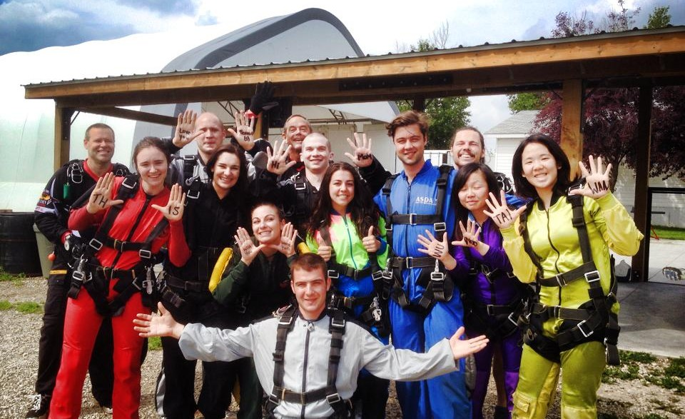 Lake Louise Jobs, Sky Diving Group