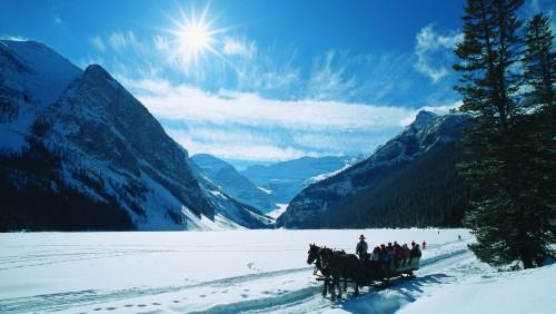 Winter at Lake Louise