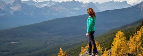 Fall Hiking, Lake Louise